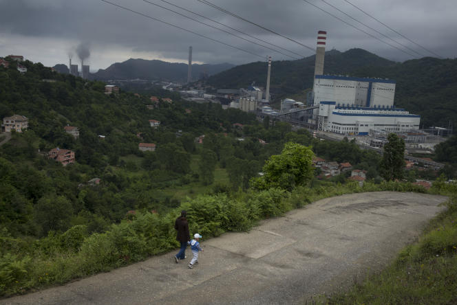 Une centrale à charbon, près de Zonguldak.