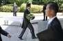 Shinzo Abe lors des cérémonies en l'honneur des victimes de la seconde guerre mondiale, à Tokyo, le 15 août 2015.