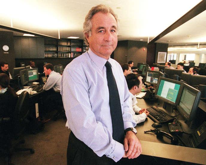 Bernard Madoff le 30 décembre 1999 à New York.