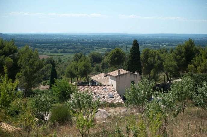 La maison d'Inès de La Fressange à Tarascon, le 23 juillet.