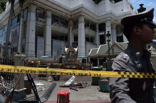 L'attentat, dans le centre de la capitale thaïlandaise, a fait plus de vingt morts.