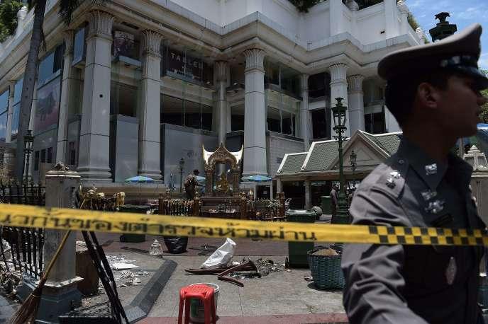 Le sanctuaire d'Erawan, à Bangkok, a été la cible d'un attentat le 17 août.