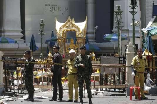 Les autorités ont multiplié les déclarations contradictoires depuis l'attaque, qui a fait 20 morts et plus de 120 blessés en plein Bangkok le 17 août.