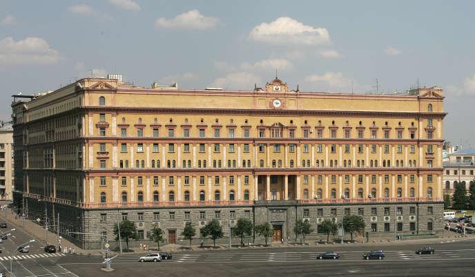 Le siège des services spéciaux russes (FSB), sur la place Loubianka, à Moscou, en juillet2007.