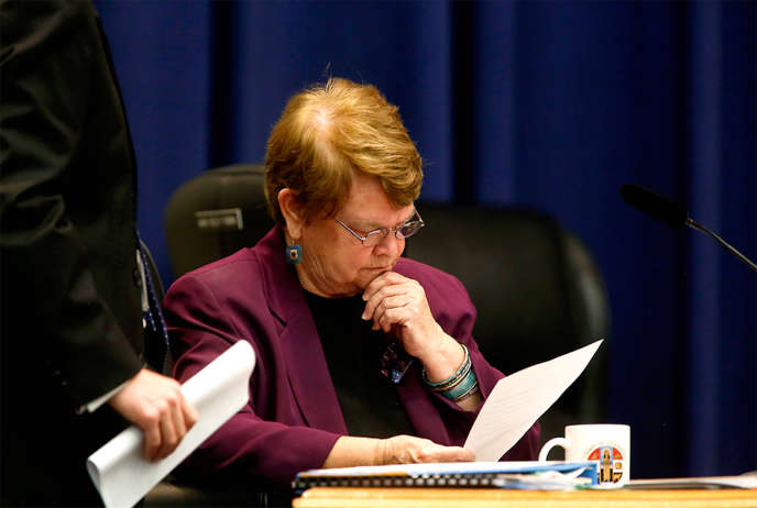 Sheila Kuehl, le 9 juin 2015,  à Los Angeles (Californie).