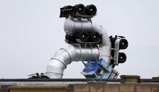 « Big Rig Jig », une sculpture de l'artiste américain Mike Ross.