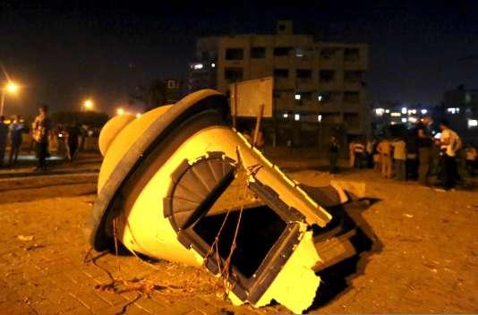 Au moins 29 personnes ont été blessées par l'explosion devant un immeuble de la sécurité d'Etat.