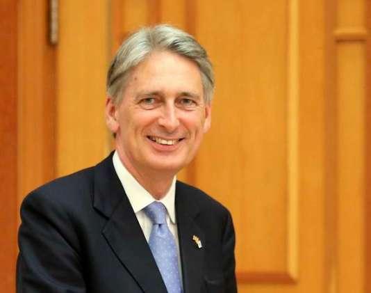 Le ministre des affaires étrangères britannique Philip Hammond lors d'un déplacement à Séoul, le 11 août 2015.