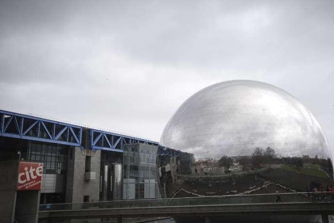 Vue de la Cité des sciences, à Paris, le 31 mars 2015.