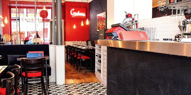Le restaurant Ida, à Paris.