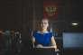 """Kristin Skogheim est Ingvild Friis dans """"Borgen"""", diffusé par Arte."""