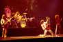Led Zeppelin en concert au Madison Square Garden en juin 1977.