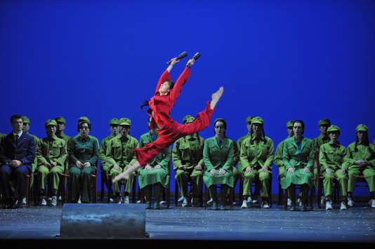 """""""Nixon in China"""", de John Adams au Théâtre du Châtelet, en 2012."""