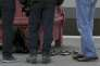 Gare d'Arras, le 21 août. Des chargeurs de kalachnikov que portaient le tireur.   TPX IMAGES OF THE DAY