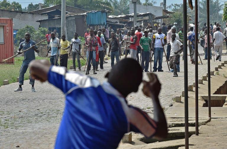 Un opposant au troisième mandat du président Nkurunziza à Bujumbura. Depuis la situation ne s'est pas apaisée depuis.
