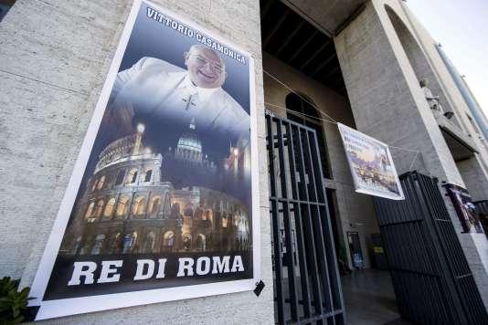 """Le """"roi de Rome"""", Vittorio Casamonica, est mort à l'âge de 65 ans d'un cancer."""