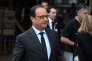 François Hollande en visite à Sassenage (Isère), le jeudi 20 août.
