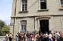 L'école Auguste Gaudin, dans le centre ville de Bastia, en septembre 2008.