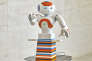 """Guido, le robot guide"" (2015), de Paul Granjon."