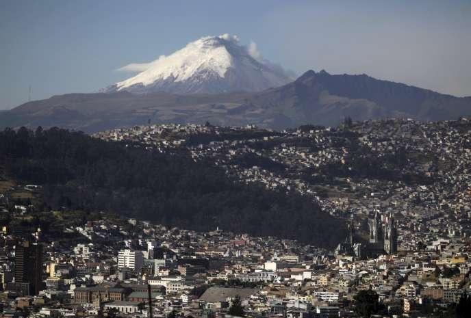 A Quito, en 2015.
