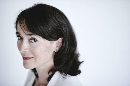 """Delphine Ernotte-Cunci, nouvelle présidente de France Télévisions, le 22 août à Paris. Photo: Antoine Doyen pour """"Le Monde"""""""