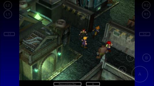 """""""Final Fantasy VII"""" dans la poche, un luxe pour qui s'accommodera du système de sauvegarde d'un autre temps."""