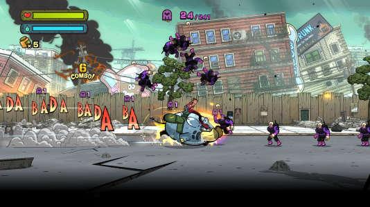 Héros éléphantesque attachant, action à l'ancienne, univers de bande dessinée, autant d'atouts charme de ce jeu de plate-forme.