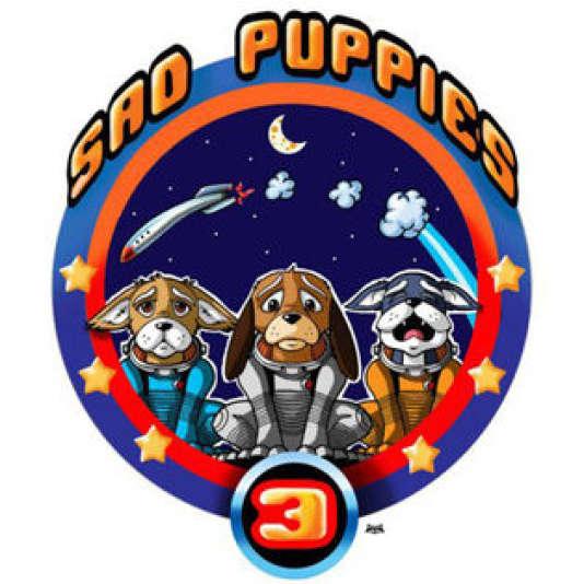 Le logo des Sad puppies.