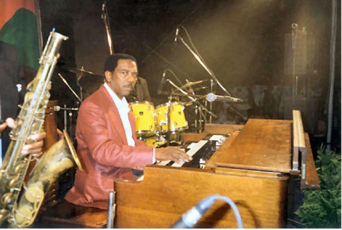 Jimmy Smith et son orgue Hammond B3.
