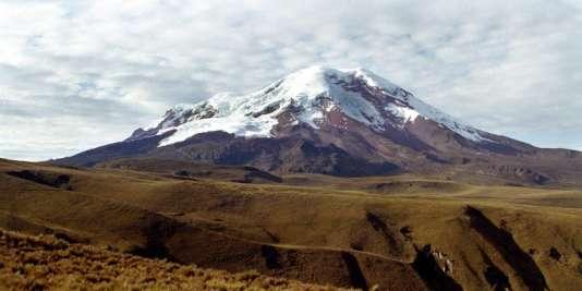 Le volcan Chimborazo en Equateur.