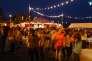 Samedi 22 août, la place principale du Festival de cinéma de Douarnenez.