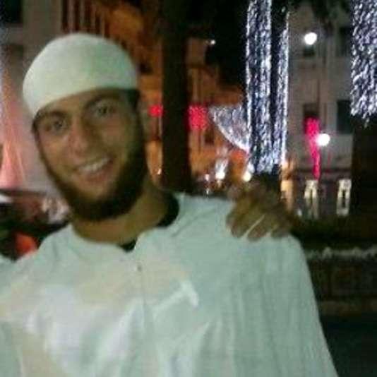 Détail d'une photo non datée d'Ayoub El-Khazzani circulant sur les réseaux sociaux.