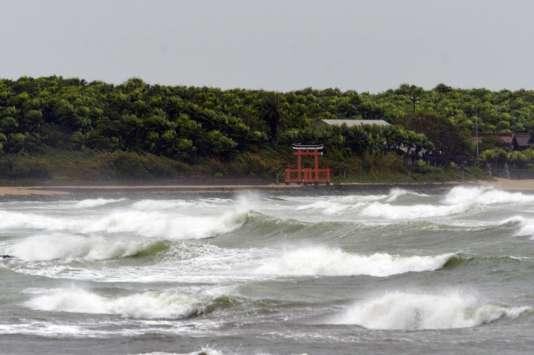 Sur l'île de Kyushu, mardi 25 août.