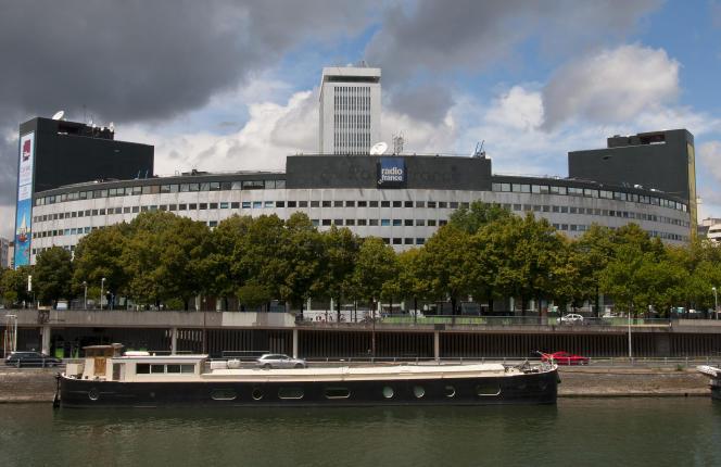 Le siège de Radio France, à Paris, en 2014.