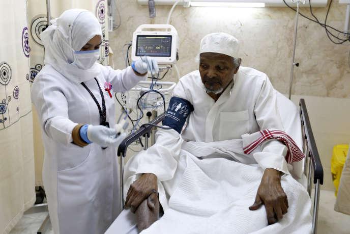 A l'hôpital Al-Noor à La Mecque en Arabie saoudite, septembre 2014.