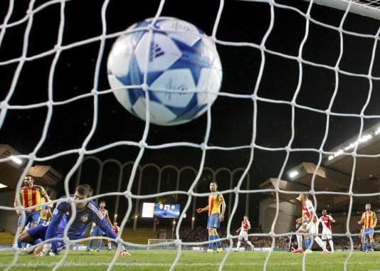 Raggi a fait réagir Monaco en égalisant à la 17e minute.