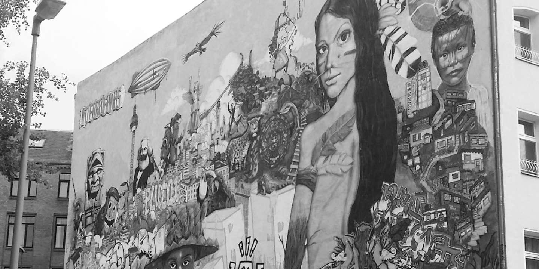 Dans le quartier de Kreuzberg, à Berlin.