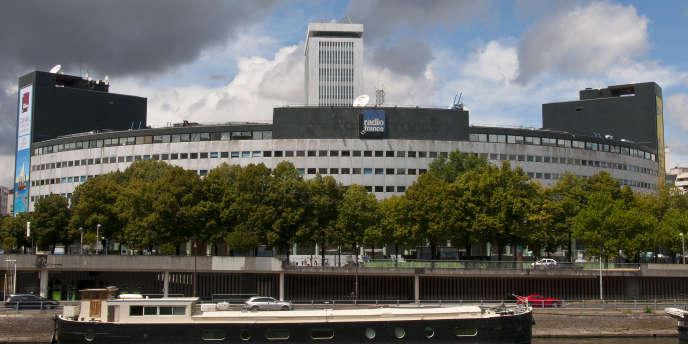La Maison ronde, siège de Radio France, en juin 2014.