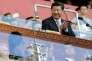 Le président chinois, Xi Jinping, lors des championnats du monde d'athlétisme à Pékin, le 22 août.