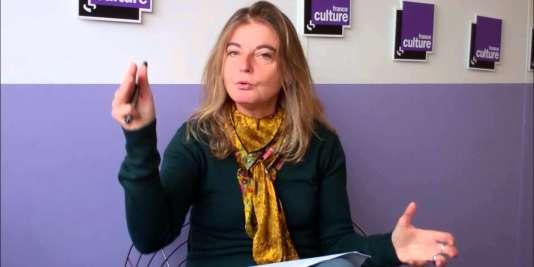 Sandrine Treiner, nouvelle directrice de France Culture.