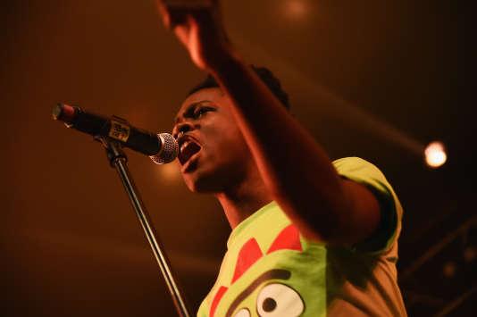 Shamir en concert à Austin au Texas en mars 2015.