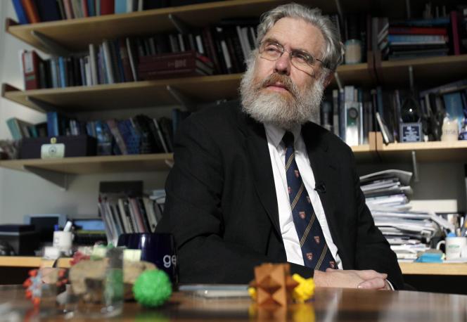 Le généticien américain George Church, professeur à Harvard et au Massachusetts Institute of Technology (MIT), à Cambridge (Massachusetts).