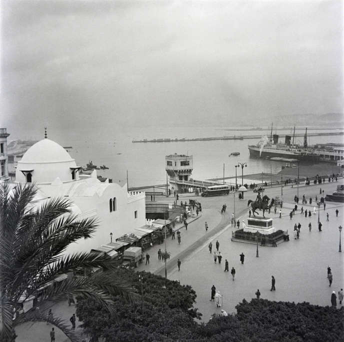 Alger en janvier 1939.