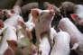 Jeudi 17 septembre, les cours du marché du porc breton s'établissaient à 1,372 euro le kilo.