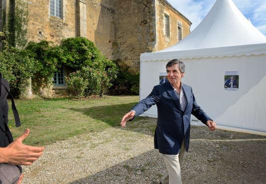 François Fillon à l'abbaye de Rouez-en-Champagne (Sarthe) le 26 août.