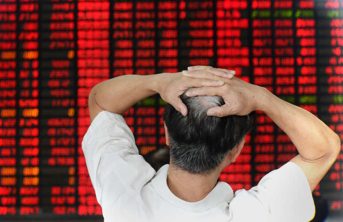 A la Bourse de Shanghai, le 26 août 2015.