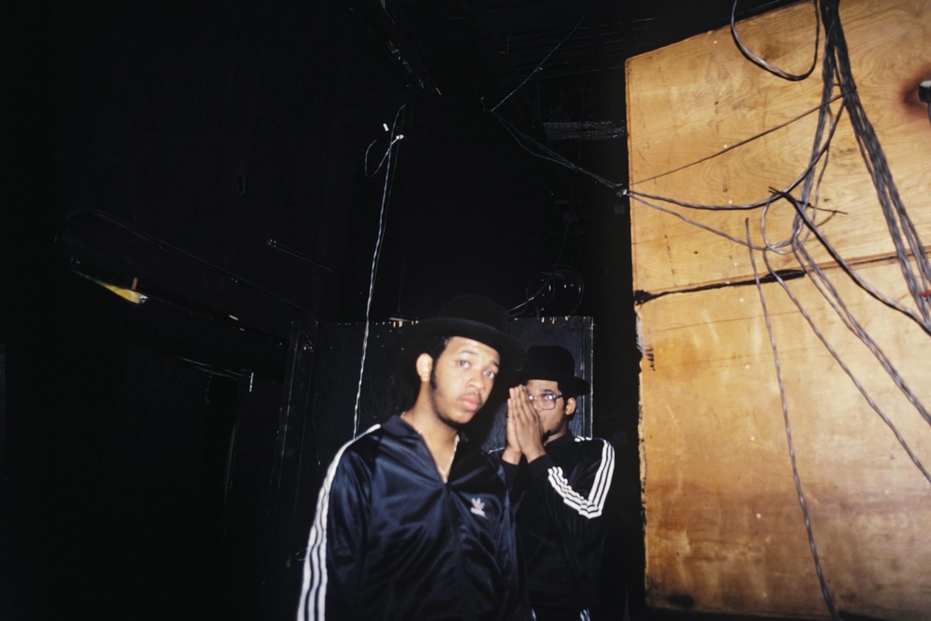 Les rappeurs stars de Run-DMC.