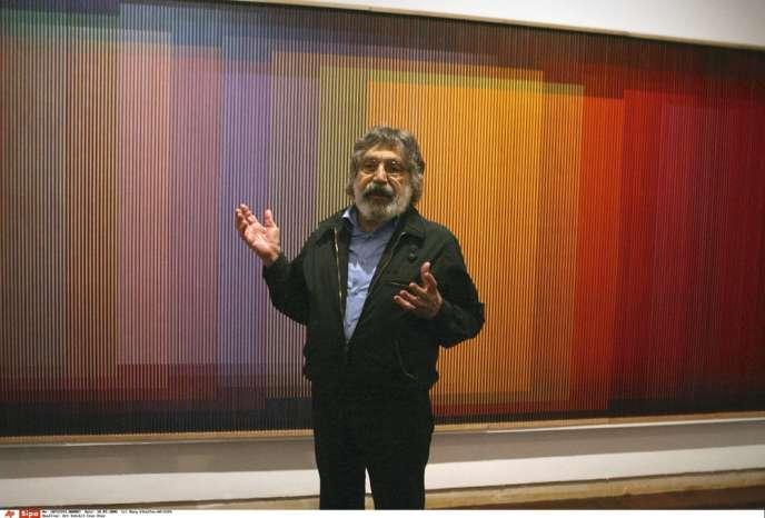 The painter Carlos Cruz-Diez is dead