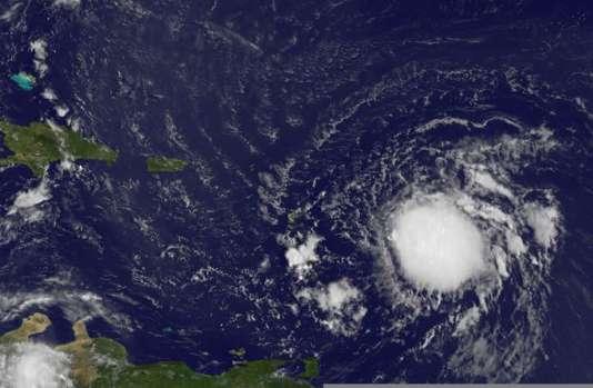 La tempête tropicale Erika devrait atteindre la Floride lundi 31 août.
