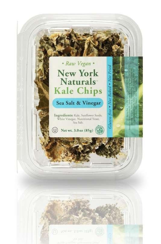 Les chips de kale, nourriture appréciée des hipsters…